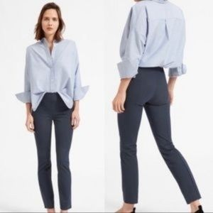 Everlane NEW Side Zip Work Pant Grayish Blue A0409